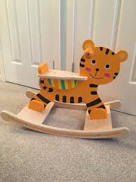 Toddler Wooden Rocking Horse (Tiger) | In Bishopbriggs, Glasgow ... Wooden Rocking Horse Orange With Tiger Paw Etsy Jefferson Rocker Sand Tigerwood Weave 18273 Large Tiger Sawn Oak Press Back Tasures Details Give Rocking Chair Some Piazz New Jersey Herald Bill Kappel Crown Queen Lenor Chair Sam Maloof Style For Polywood K147fsatw Woven Chairs And Solid Wood Fine Fniture Hand Made In Houston Onic John F Kennedy Rocking Chair Sells For 600 At Eldreds Lot 110 Two Rare Elders Willis Henry Auctions Inc Antique Oak Carving Of Viking Type Ship On Arm W Velvet Cushion With Cushions