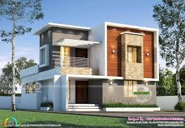 100 Modern House 3 Bedroom 1805 Sqft Modern House Plan Kerala Home Design