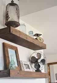 diy floating shelves hometalk