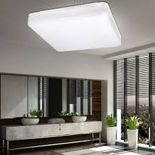 details zu led decken bad badzimmer tageslicht len ip44 feuchtraum keller hallen leuchte