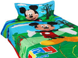 Mickey Mouse Toddler Bed With Mattress Font Comforter Duvet Quilt Cover Minnie Room In Box Bundle