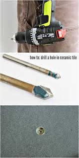 how to drill a hole in ceramic tile dans le lakehouse