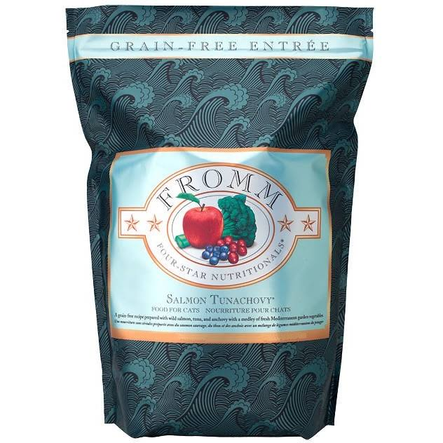 Fromm 4 Star Cat Food - Salmon Tunachovy