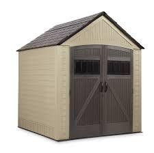 rubbermaid 7 x 7 resin storage building