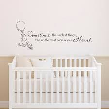 Winnie The Pooh Nursery Decor Uk by Classic Winnie The Pooh Wall Decals Quotes Sometimes The