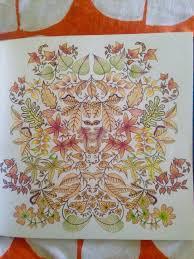 From Johanna Basfords Secret Garden Finished 2 11 16 Basford GardenSecret GardensColoring Books