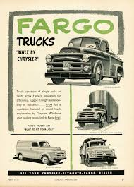 1953 Fargo Truck Ad-01 | Ideas 4 '52 Dodge Pilot House | Pinterest ...