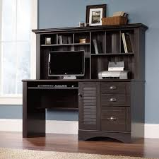 Sauder Shoal Creek Desk Jamocha Wood by Furniture Cool Sauder Desks For Your Office Room Design Ideas