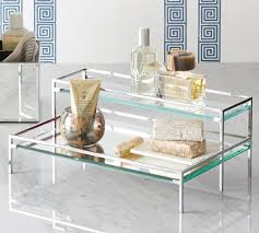 Pottery Barn Bathroom Accessories by Tiered Mirror Tray Pottery Barn Mirrored Bathroom Accessories