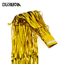 Foil Fringe Curtain Dollar Tree by Online Get Cheap Fringe Backdrops Aliexpress Com Alibaba Group