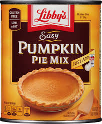 Crustless Pumpkin Pie Cupcakes by Amazon Com Libby U0027s Pumpkin Pie Mix Easy Pumpkin 30 Oz