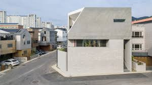 100 South Korea Houses Augmented Reality Architects Wraps House With Courtyards To Create