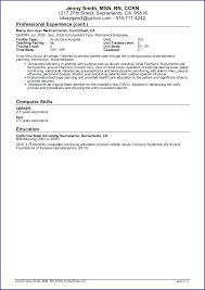 Resume Profile Template Sample Travel Nursing Page 3 Cv Statement Examples