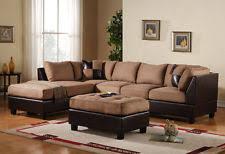 Buchannan Faux Leather Sectional Sofa by Sofas Loveseats U0026 Chaises Ebay