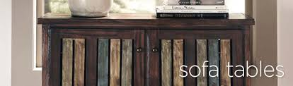 sofa console tables mathis brothers furniture stores