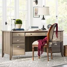 Sauder Shoal Creek Desk Jamocha Wood by Sauder Shoal Creek Executive Desk Diamond Ash Best Home