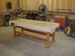 woodworking bench from recycled wood finewoodworking
