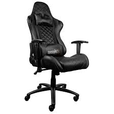 Buy The ThunderX3 TGC12 Gaming Chair - Black ( TEGC-2008101.11 ) Online Killabee 8212 Black Gaming Chair Furmax High Back Office Racing Ergonomic Swivel Computer Executive Leather Desk With Footrest Bucket Seat And Lumbar Corsair Cf9010007 T2 Road Warrior White Chair Corsair Warriorblack By Order The 10 Best Chairs Of 2019 Road Warrior Blackwhite Blackred X Comfort Air Red Gaming Star Trek Edition Hero