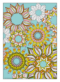 Flower Designs Coloring Book Jenean Morrison Art Design