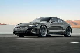 Audi's E-Tron GT Concept Is A 590-horsepower Electric Sedan Powered ...