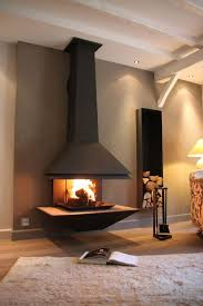 26 cheminee centrale cosy moderne best 20 poele cheminee ideas on