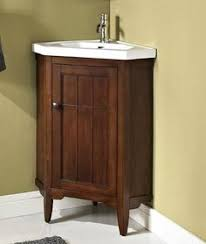 Small Bathroom Corner Vanity Ideas by 24 U201d Cottage Style Thomasville Bathroom Sink Vanity Model Cf