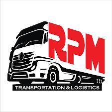 100 Rmds Trucking Masculine Bold Company Logo Design For RMP Transportation
