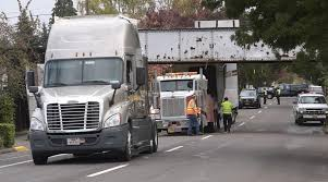 100 Railroad Truck Crashes Into Railroad Trestle Local Democratheraldcom