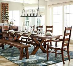 Extending Dining Table Pottery Barn With Regard To Room Ideas Gallery