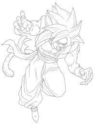 Imagenes De Goku Para Colorear