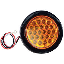 Buyers Products Company LED 4 In. Round Strobe Light, Amber-SL40AR ...
