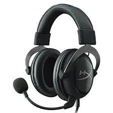 cool Original Kingston HyperX Cloud II Gaming Headset for PC Xbox Virtual Surround Sound Hifi Headphone with Microphone chez Unigro