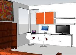 Ikea Besta Burs Desk Black by Facebook