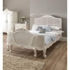 White Vintage Bedroom Rattan Furniture Ideas