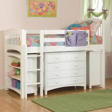 Low Loft Bed With Desk Underneath by Bunk Loft Beds Wayfair Full Low Bed Designer Kids Room Storage