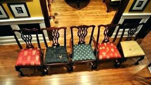 Recover Dining Chairs Room Chair Fabric Ideas For Best