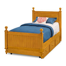 Value City Twin Headboards by Colorworks Twin Bed With Trundle Honey Pine American Signature