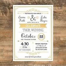 Gold Diy Vintage Wedding Invitation Template Ahandcraftedwedding 10