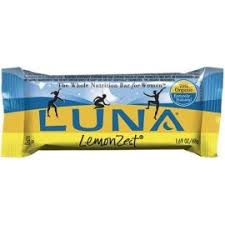 A Box Of Lemon Zest Luna Bars I Usually Opt For Chocolate Flavored But These Are So Dang Delicious