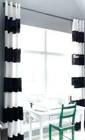 Black And White Striped Curtains Target by Black And White Striped Outdoor Curtains Black And White Shower