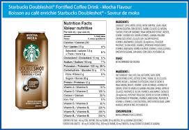 Starbucks Doubleshot™ Fortified Coffee Drink Mocha Flavour