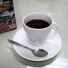 A Cup Of Kopi Luwak From Gayo Takengon Aceh