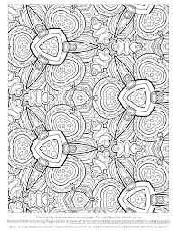 Free Printable Abstract Coloring Pages For Kids View Larger