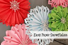 How To Make Paper Snowflakes The Easiest Ever