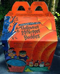 Mcdonalds Halloween Buckets by Halloween Mcnugget Buddies Were So Good Dinosaur Dracula