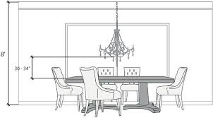 Dining Room Chandelier Height Over Table Andifitsreal