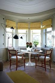 Bay Window Table In Dining Room Astonishing On Other Regarding Round Ideas Decorating