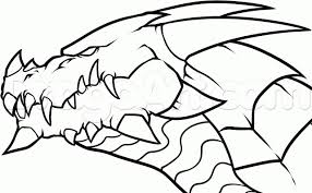 Fire Breathing Dragons Coloring Pages 2250123