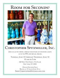 Christopher Spitzmiller Table Lamps by The Peak Of Chic Seconds Sale At Christopher Spitzmiller