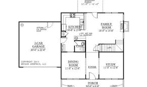 Decorative Single House Plans by 7 Decorative Single Story House Plans With Bonus Room House